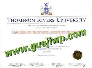 buy Thompson Rivers University degree