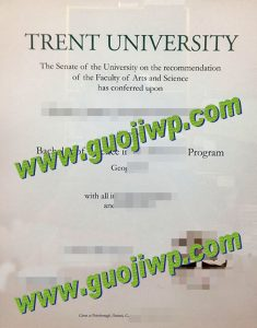 buy Trent University degree certificate
