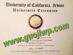 fake UCI degree certificate
