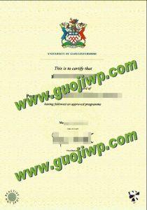 buy University of Gloucestershire degree