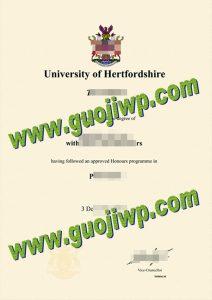 buy University of Hertfordshire degree