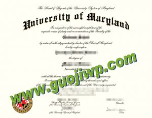 buy University of Maryland, College Park degree certificate