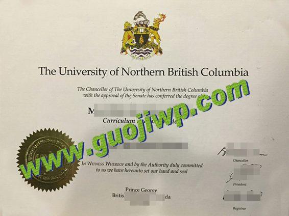 buy UNBC degree certificate
